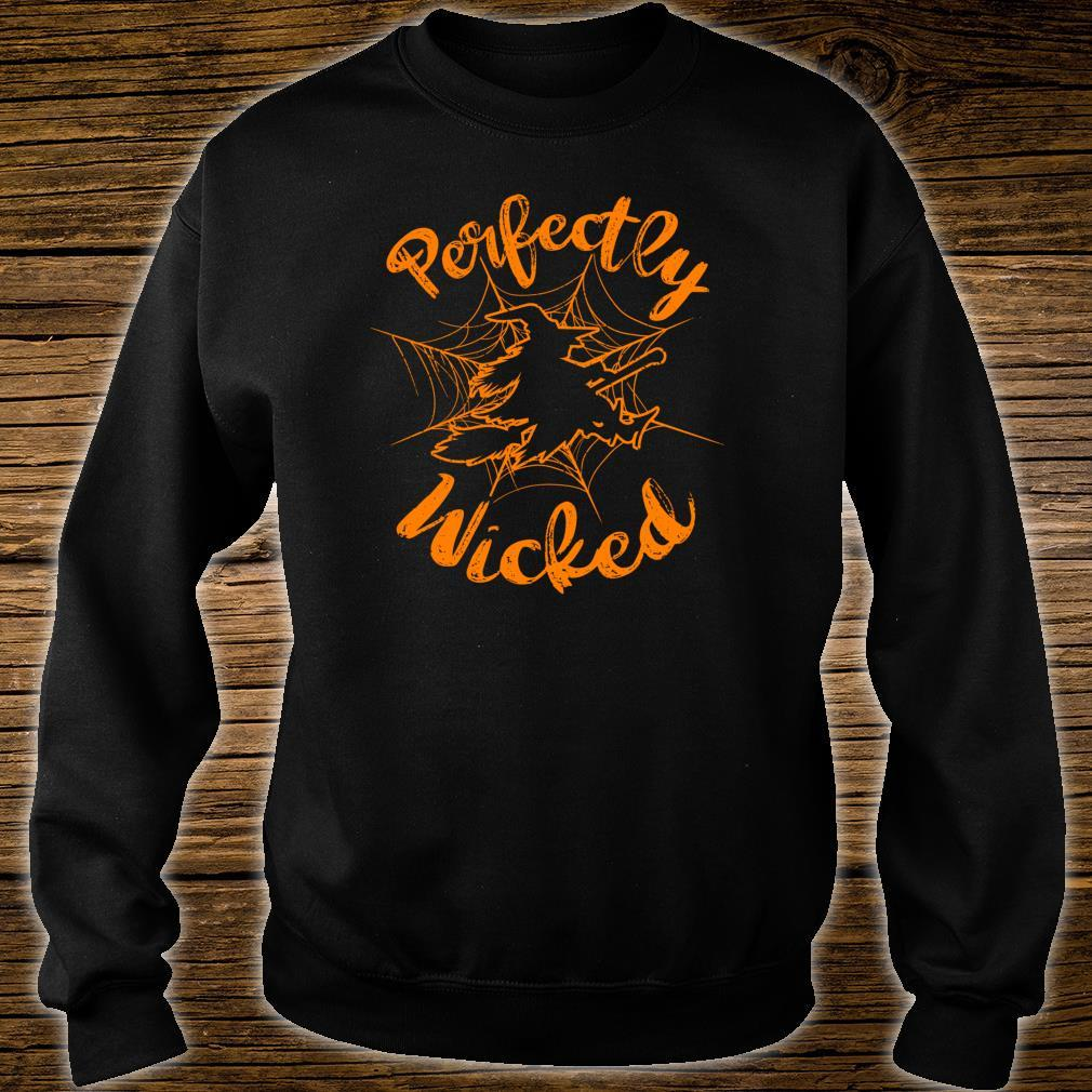 Halloween Witch Perfectly Wicked Shirt sweater
