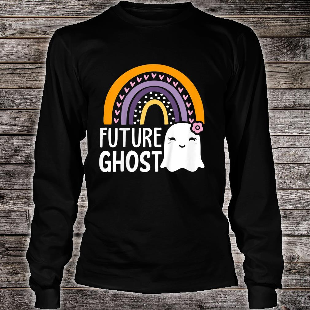 Kids Halloween Costumes Future Ghost Girls Toddlers Shirt long sleeved