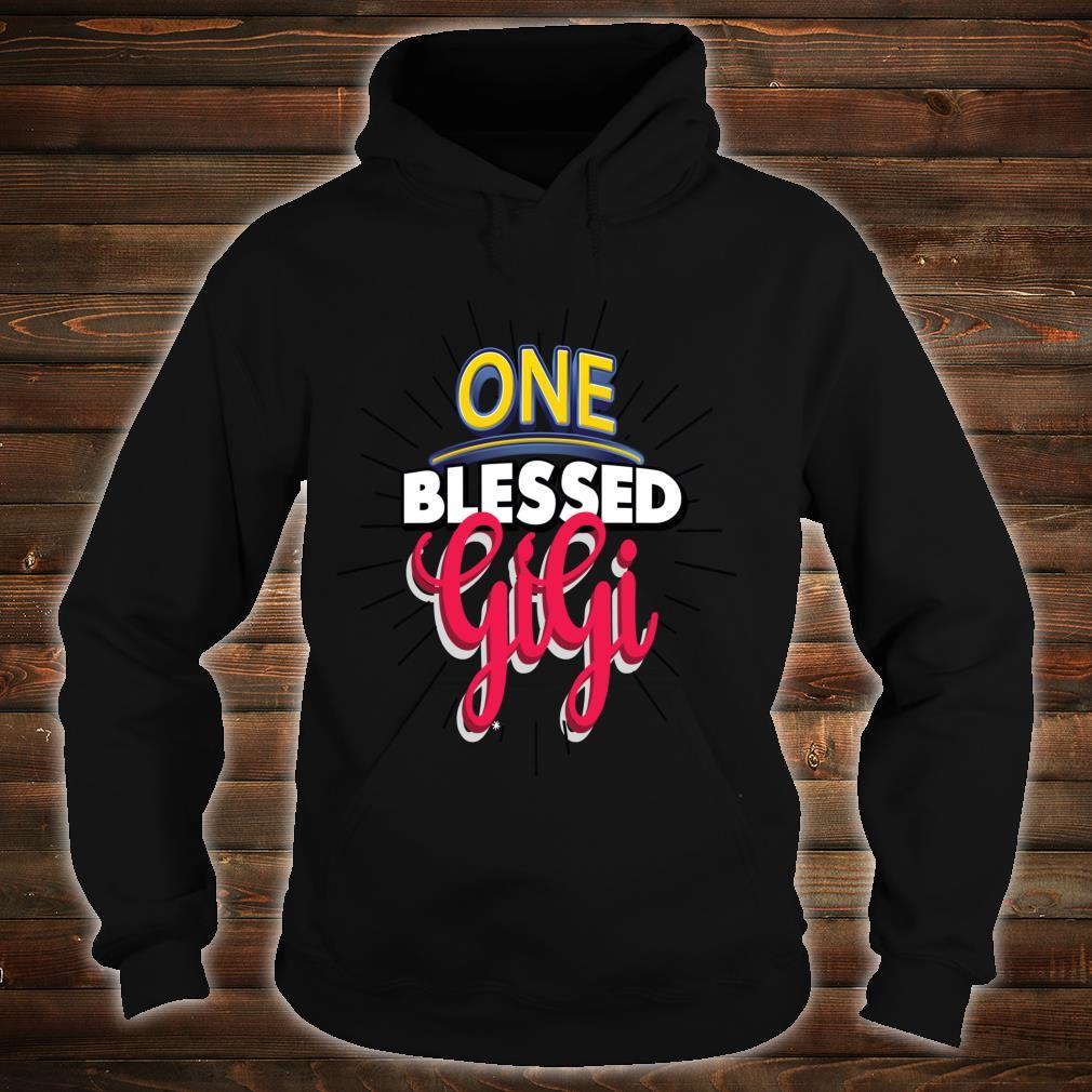 Mother's Day Blessed Gigi Lovely Inspiration Shirt hoodie
